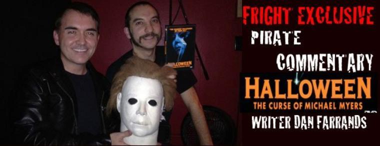 Halloween 6 : La dédicasse de Daniel Farrands