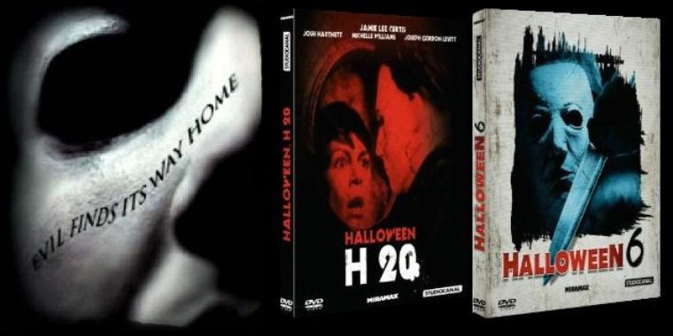 News octobre 2012 : Halloween 6, 7 et 8 en DVD chez Studio Canal