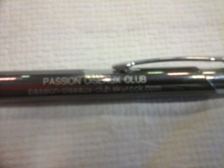 Quelques ventes de notre stylo Publicitaire