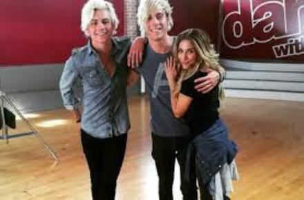 Riker dans Dance with the stars