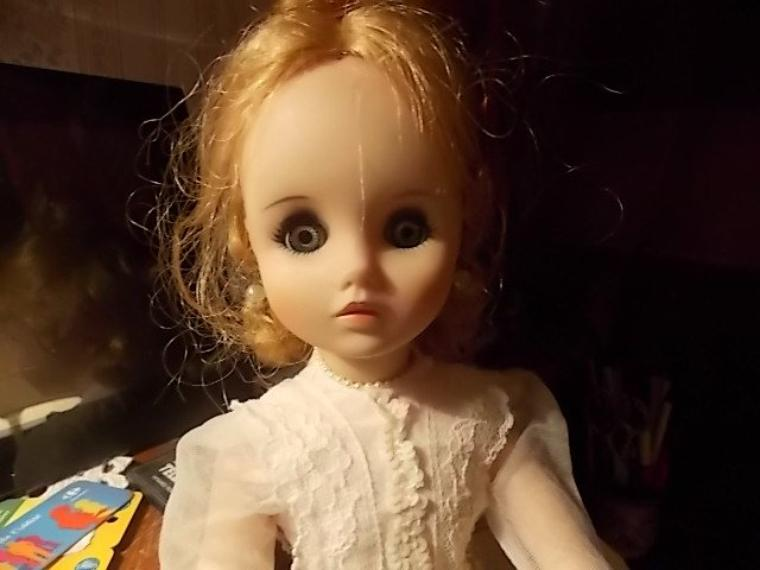 merci isa!! voici une jolie poupée