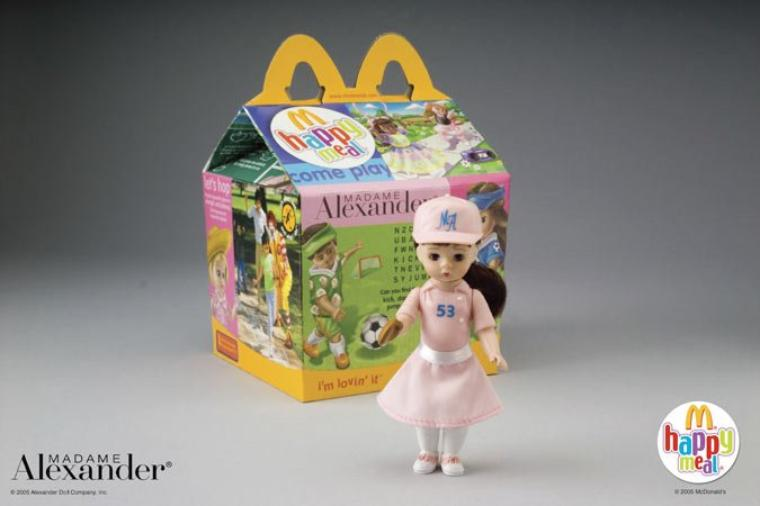 les miniatures madame alexandr pour les happy meals de mc donald