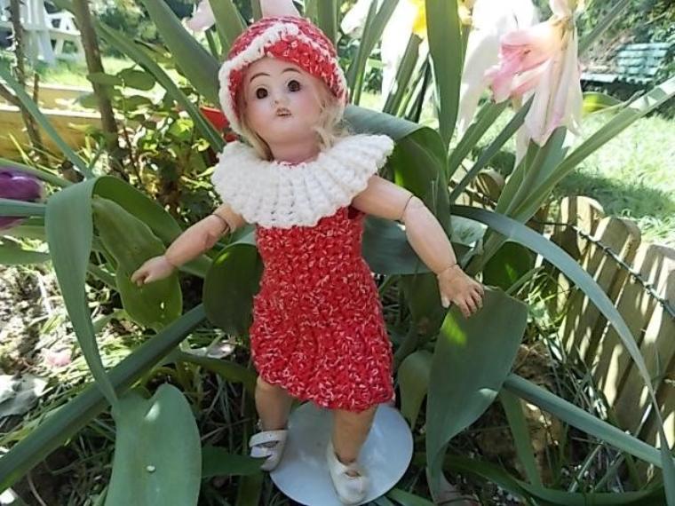 Virginie etrenne sa nouvelle robe