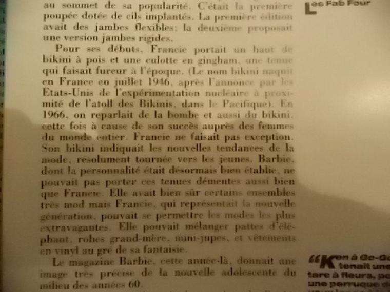 l'histoire de Francie vue par Billy Boy