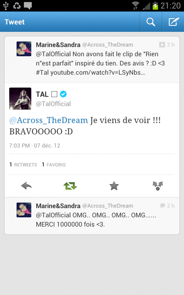 Clip Tal - Rien n'est parfait by Across The Dream