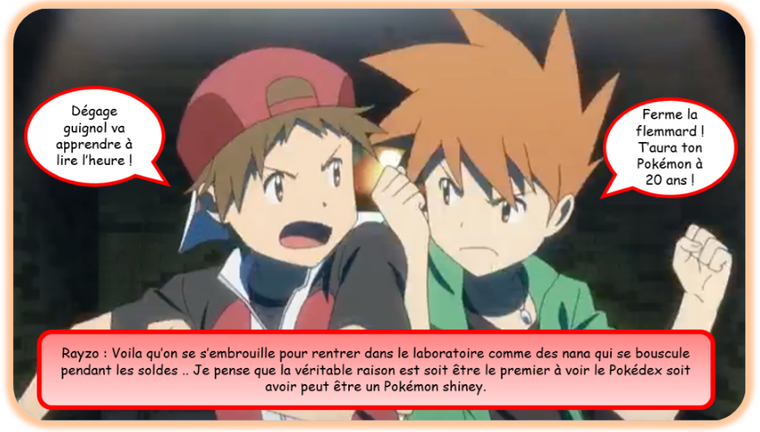 L'AVENTURE ROUGE 01 !