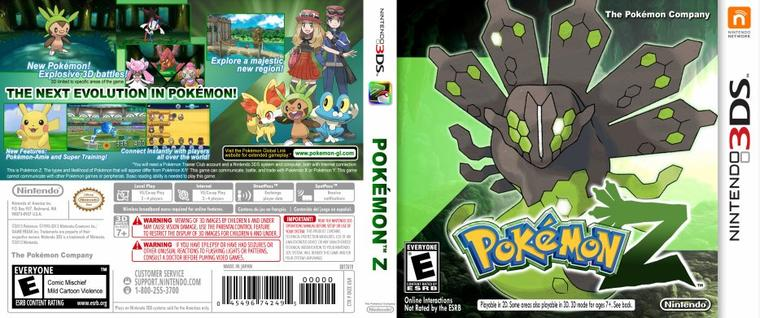 ★★ Pokémon Version Z ★★