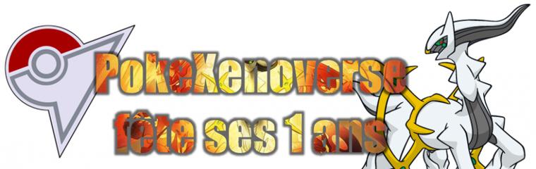 ★★ PokeXenoverse fête ses 1 ans ! ★★