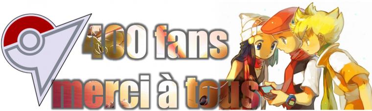 ★★ PokeXenoverse atteint les 400 fans ! ★★