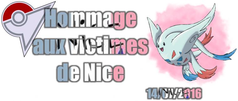 ★★ Hommage aux victimes de Nice ! ★★