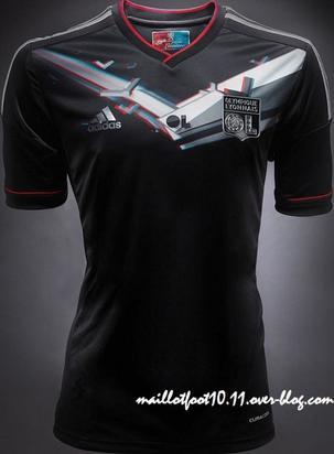 Maillot 3D Noir Third  2012 / 2013 - Adidas
