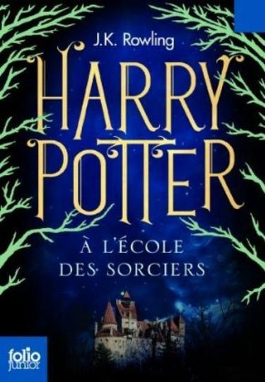 . J.K. ROWLING ✿ Harry Potter à l'école des sorciers (tome 1).