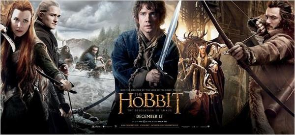 . La désolation de Smaug ✿ Warner Bros, 2013.