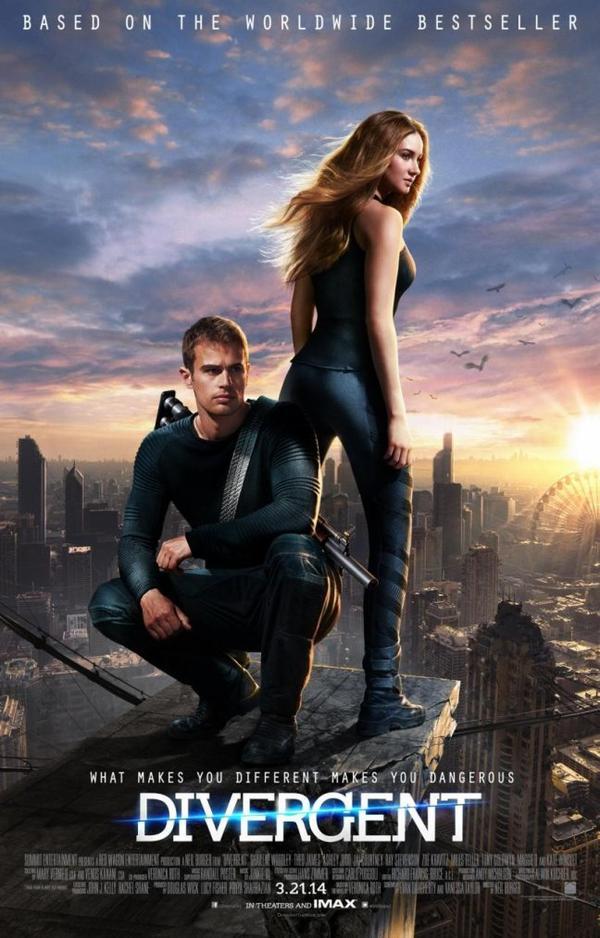 . Divergente (Lionsgate, 2014).