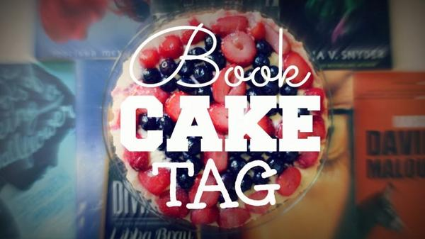 TAG : book cake !