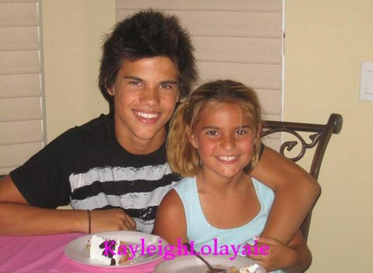 Taylor et sa petite s½ur
