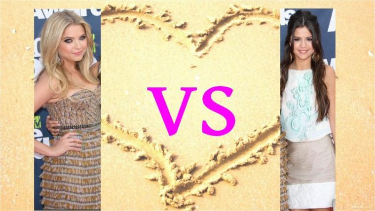 Ashley Benson VS Selena Gomez !