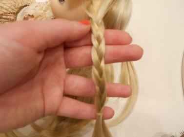 ♥ Tuto coiffure pullip avec des tresses ♥