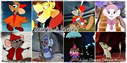 Zoom on...Disney's mice