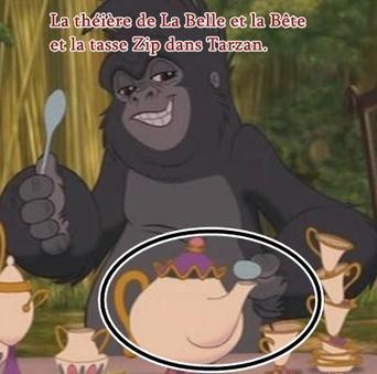 Clin d'oeil : Tarzan.