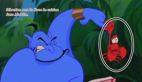Clin d'oeil : Aladdin.