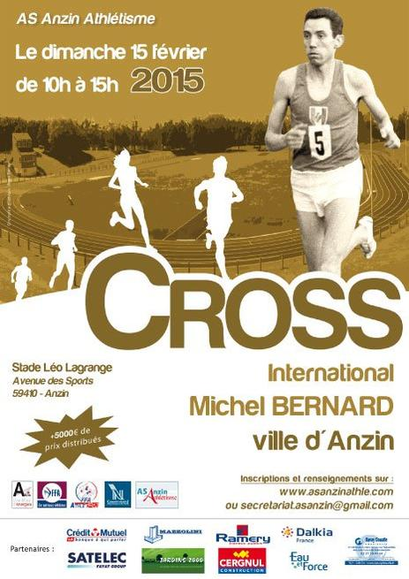 COURSE 03 - LE CROSS INTERNATIONAL MICHEL BERNARD - ANZIN - 5 KILOMETRES