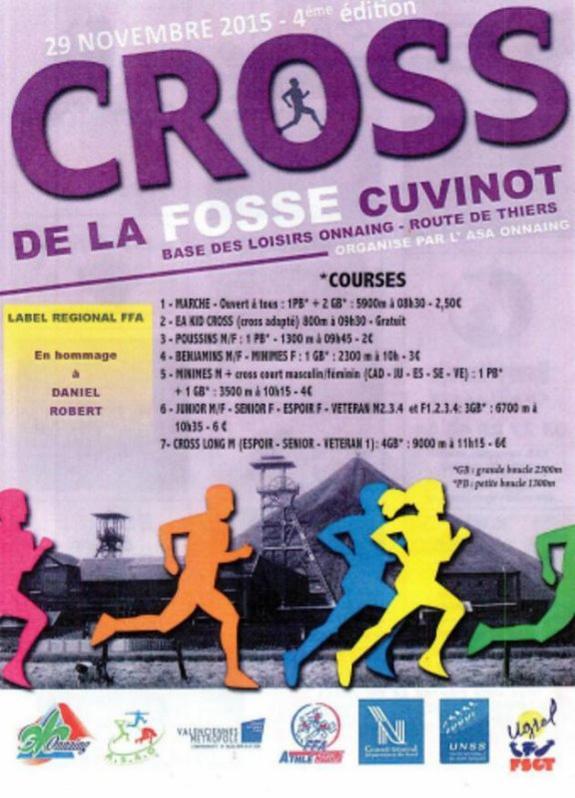 COURSE 14 - LE CROSS DE LA FOSSE CUVINOT - 3KM500 - ONNAING