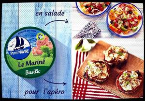 #J'ai Testé ... L'Émietté de Thon Le Mariné Basilic de Petit Navire.