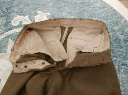 pantalon US  ww1