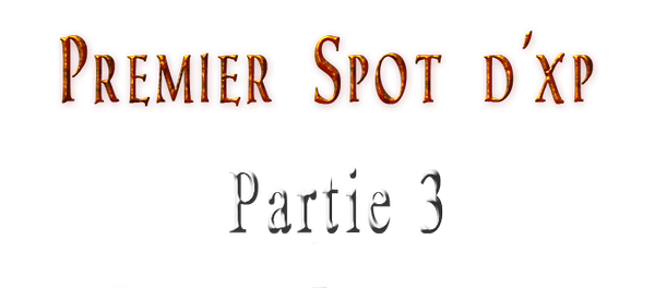 Comment monter une team - Premier Spot d'xp - Partie 3