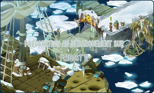 Préparation au débarquement sur Frigost II
