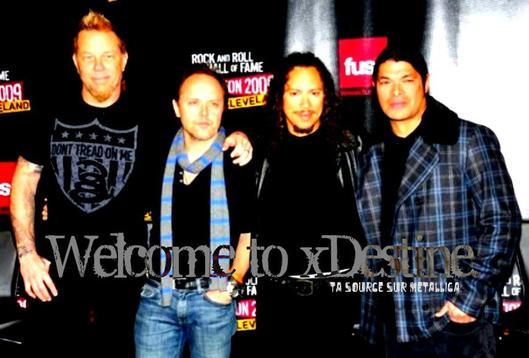 xDestine, ta source sur Metallica.