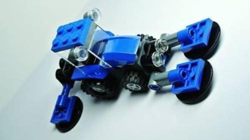 Tracteur Tondeuse Lego