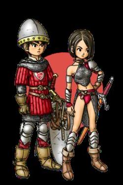 - Dragon Quest IX : Les Sentinelles du Firmament -  Guerrier