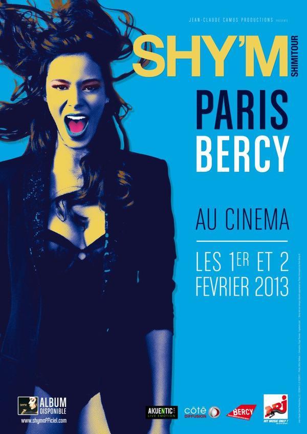 Shy'm au Cinema