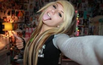 Blond & Black Hair
