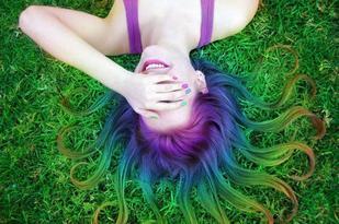 Multicolor Hair