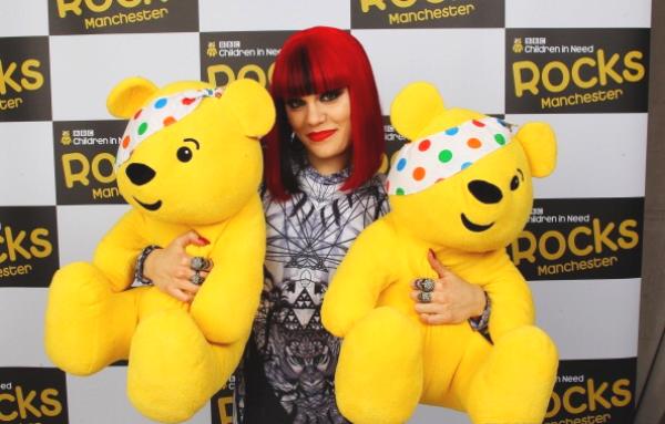 "Jessie J à L'evenement de ""Children In Need Rocks"""