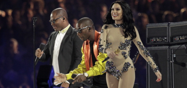 Jessie J au Jeux Olympiques de Londres