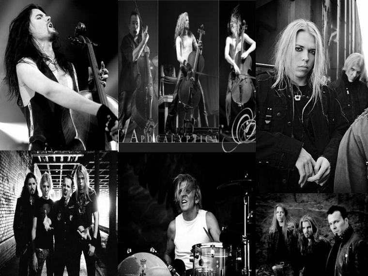 Apocalyptica ... Les dieux du violoncelle !