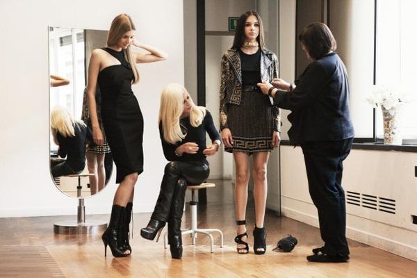 Les images de la collection versace pour H&M !