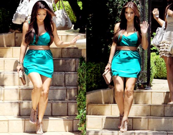 Kim Kardashian : Ouuuh la menteuse !
