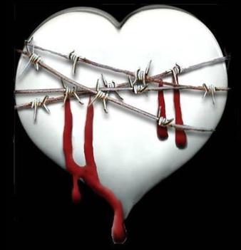 Un cuore pieno di dolore