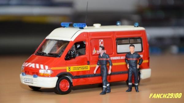 VSAB et Figurines Pompier 1:43 ème Strasbourg