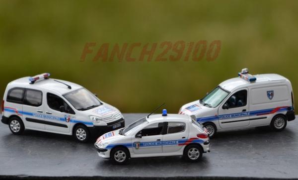 Petite collection Police Municipale 1:43 ème