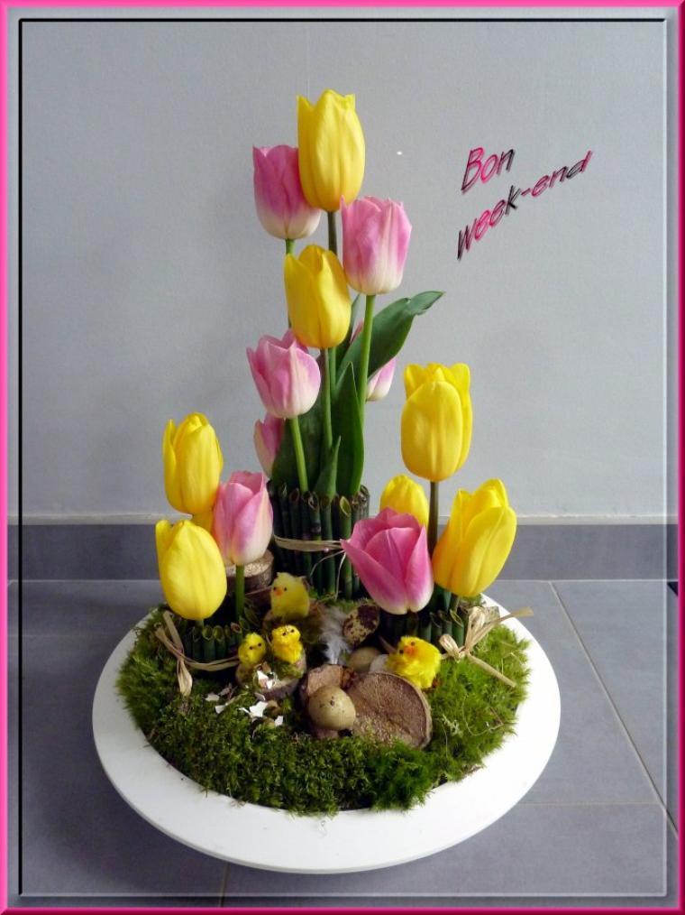 C'est le week-end !!!!!  Joyeuses pâques