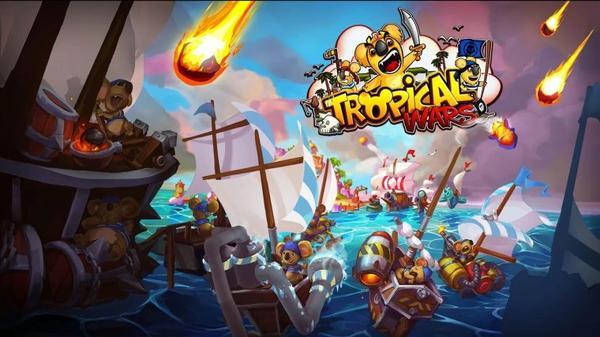 *    Tropical Wars : des koalas en guerre contre des pirates    *