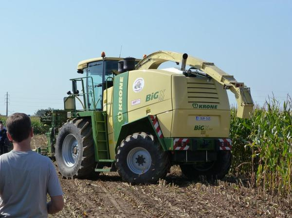 Krone Big X 700 - Oudenaarde 2011