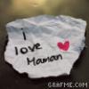 Maman je t'aime ♥