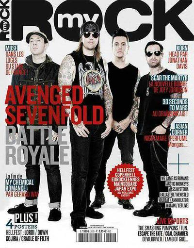 "Avenged Sevenfold "" Hail To The King """
